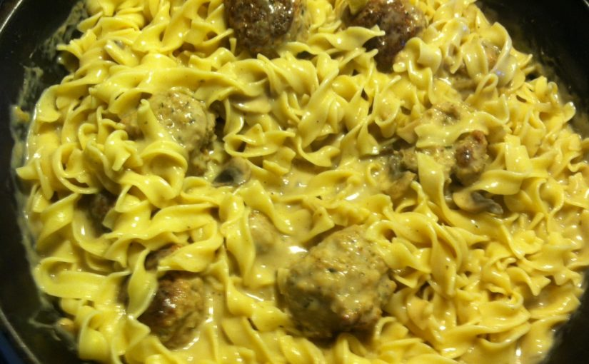 CHEF JEFF: One Byte At A Time — Meatball Stroganoff